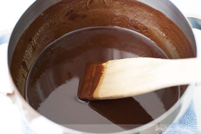 Chocolate con mantequilla