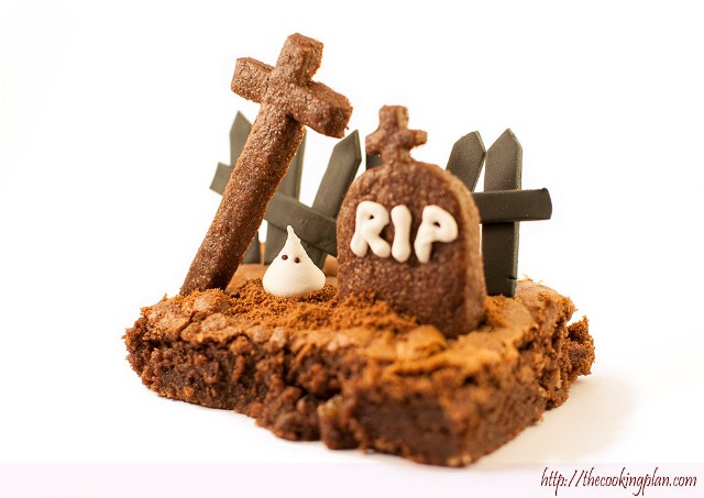 Brownie de Halloween