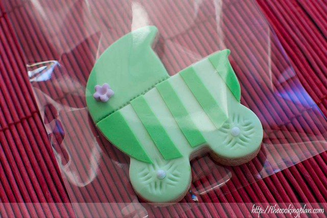 Galleta decorada con fondant
